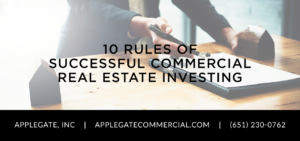 10 Rules of Successful Commercial Real Estate Investing